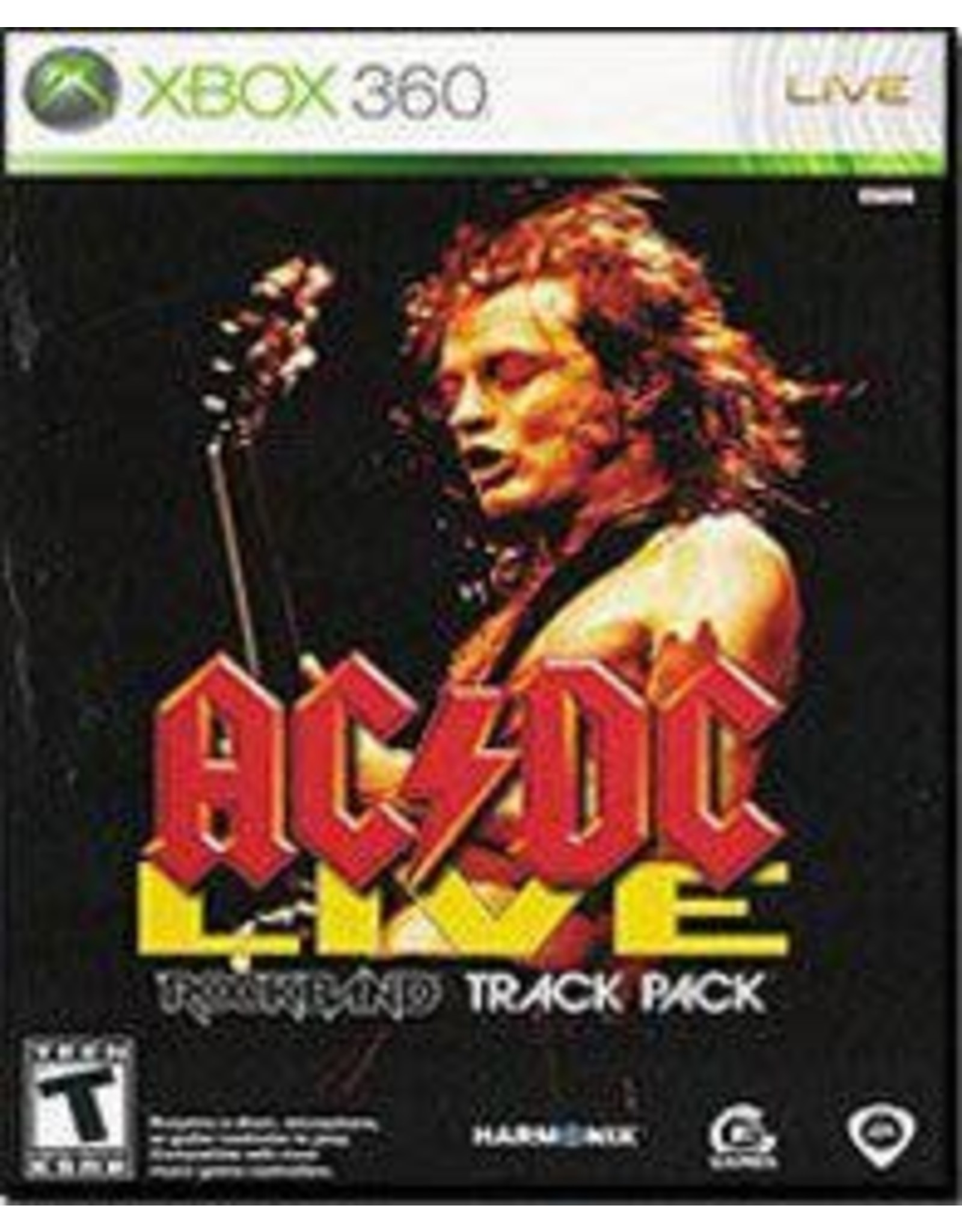 Xbox 360 AC/DC Live Rock Band Track Pack (CiB)