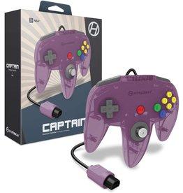 Nintendo 64 N64 Nintendo 64 Captain Premium Controller (Atomic Purple)
