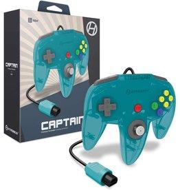 Nintendo 64 N64 Nintendo 64 Captain Premium Controller (Turqouise)