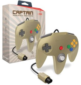 Nintendo 64 N64 Nintendo 64 Captain Premium Controller (Gold)