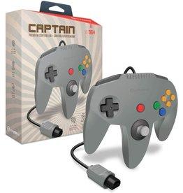 Nintendo 64 N64 Nintendo 64 Captain Premium Controller (Grey)