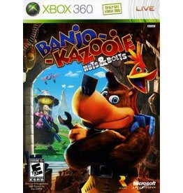 Xbox 360 Banjo-Kazooie Nuts & Bolts (No Manual)