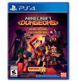 Playstation 4 Minecraft Dungeons Hero Edition (PS4)