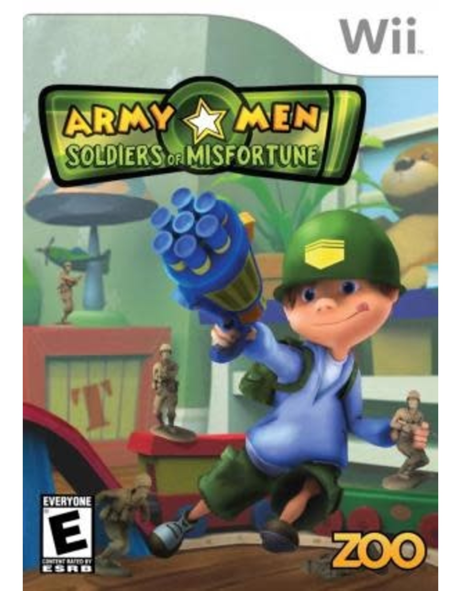 Wii Army Men Soldiers of Misfortune (CiB)