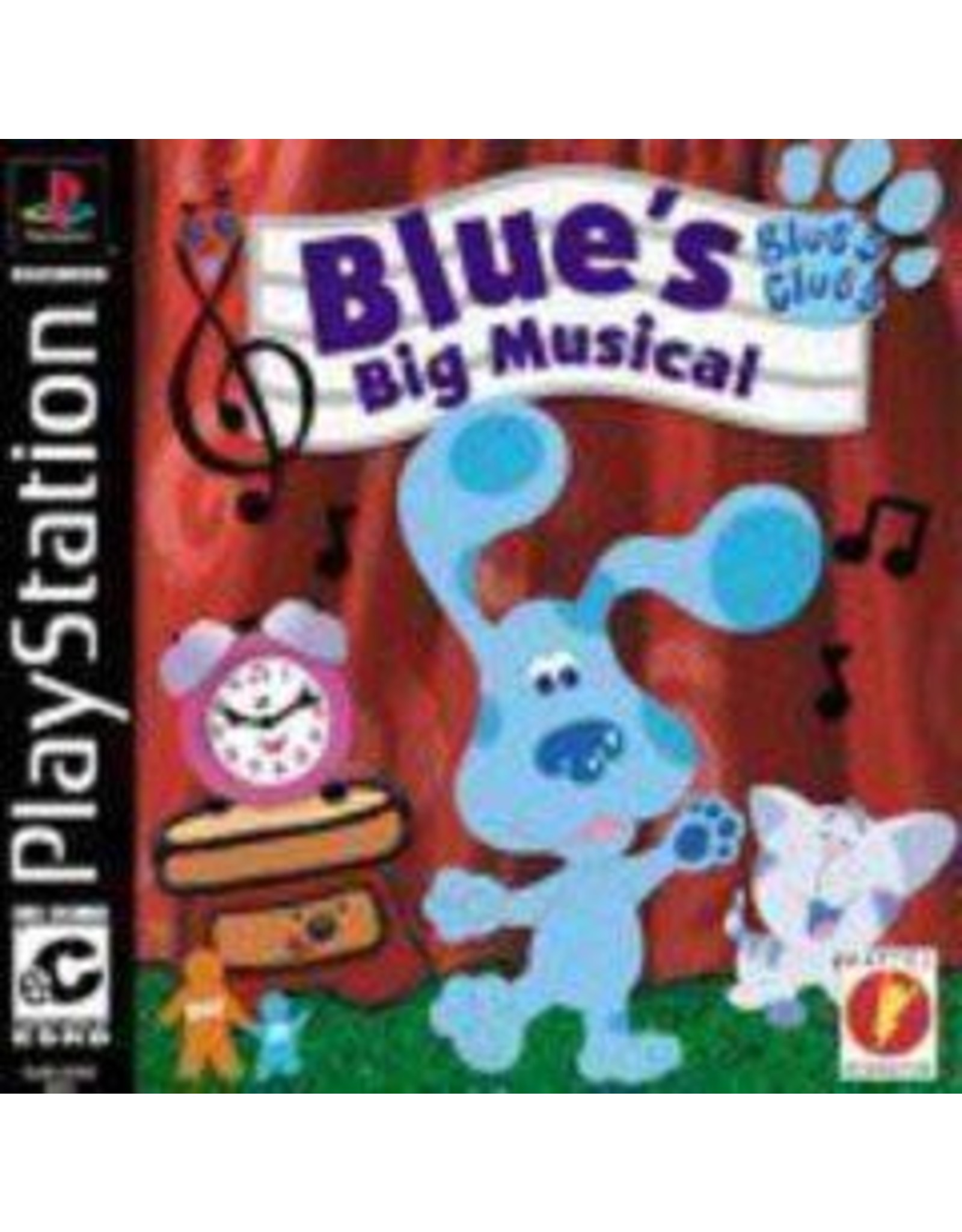 Playstation Blue's Clues Blue's Big Musical (CiB)