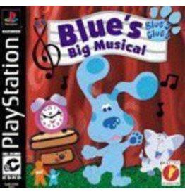 Playstation Blue's Clues Blue's Big Musical (CiB)