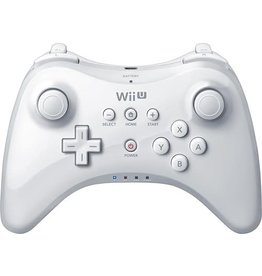 Wii U Wii U Pro Controller White (With Charger)