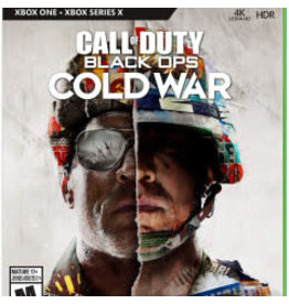 Xbox One Call of Duty Black Ops Cold War (XBone, Used)