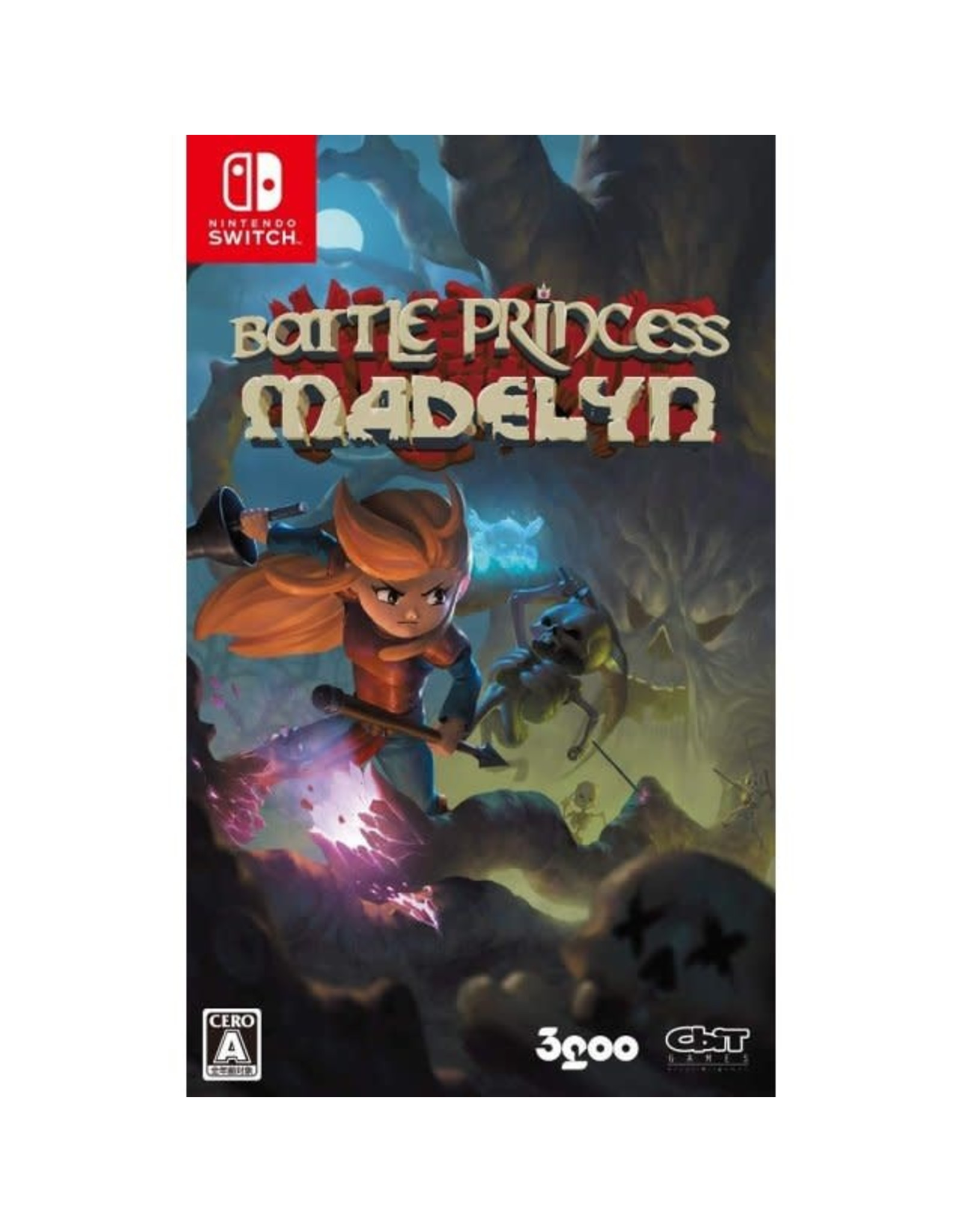 Nintendo Switch Battle Princess Madelyn (JAP Import, Plays in English, Used)
