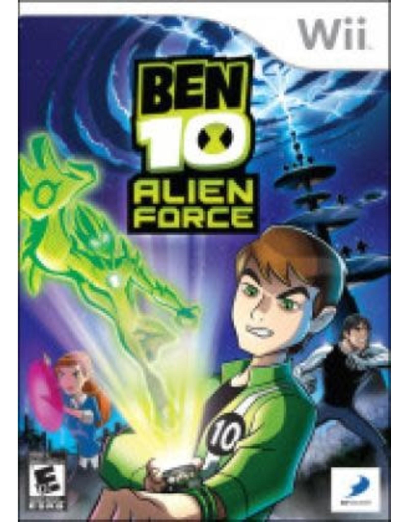Wii Ben 10 Alien Force (CiB)