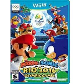Wii U Mario & Sonic at the Rio 2016 Olympic Games (CiB)