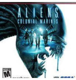 Playstation 3 Aliens Colonial Marines (No Manual)