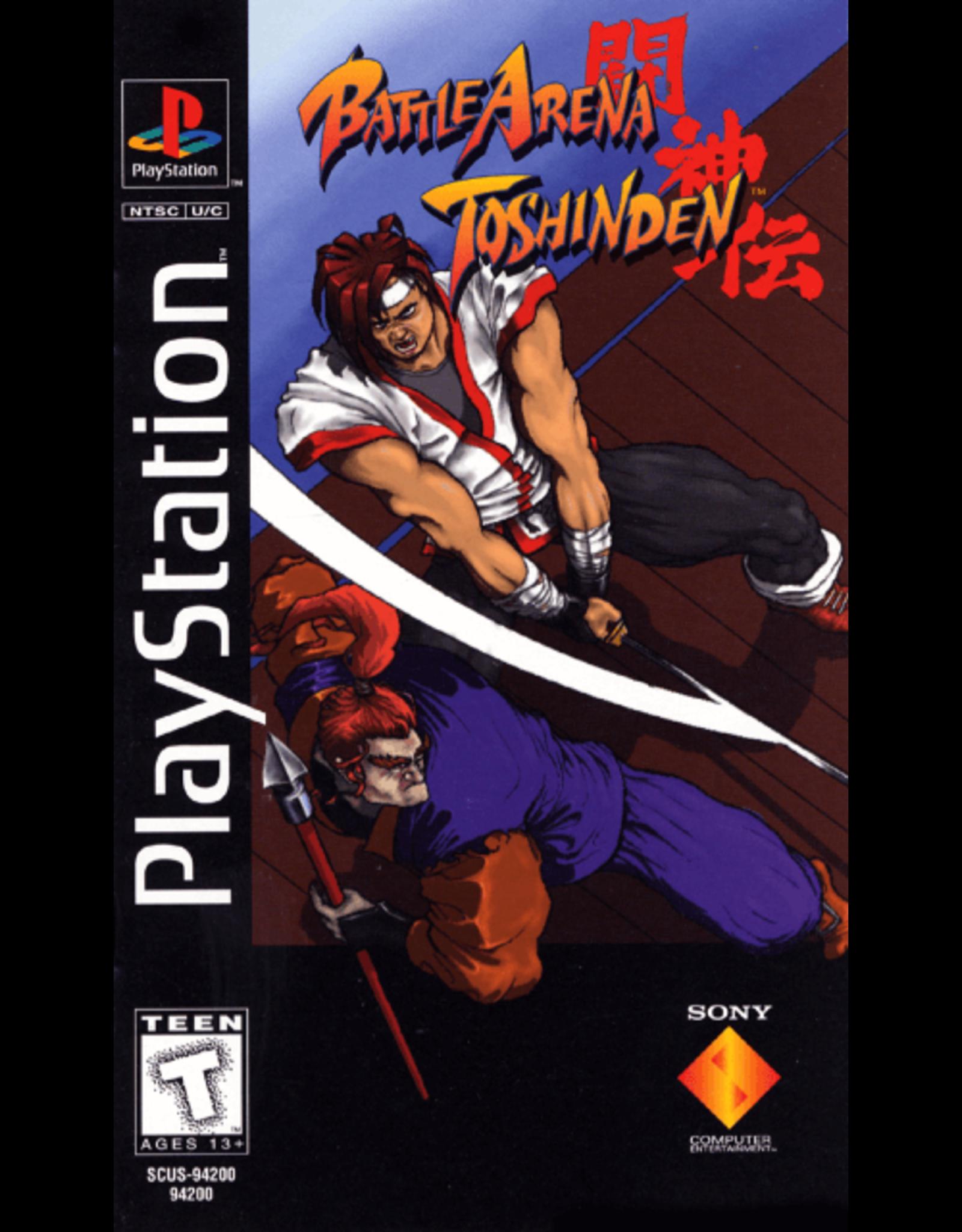 Playstation Battle Arena Toshinden (Long Box, CiB)