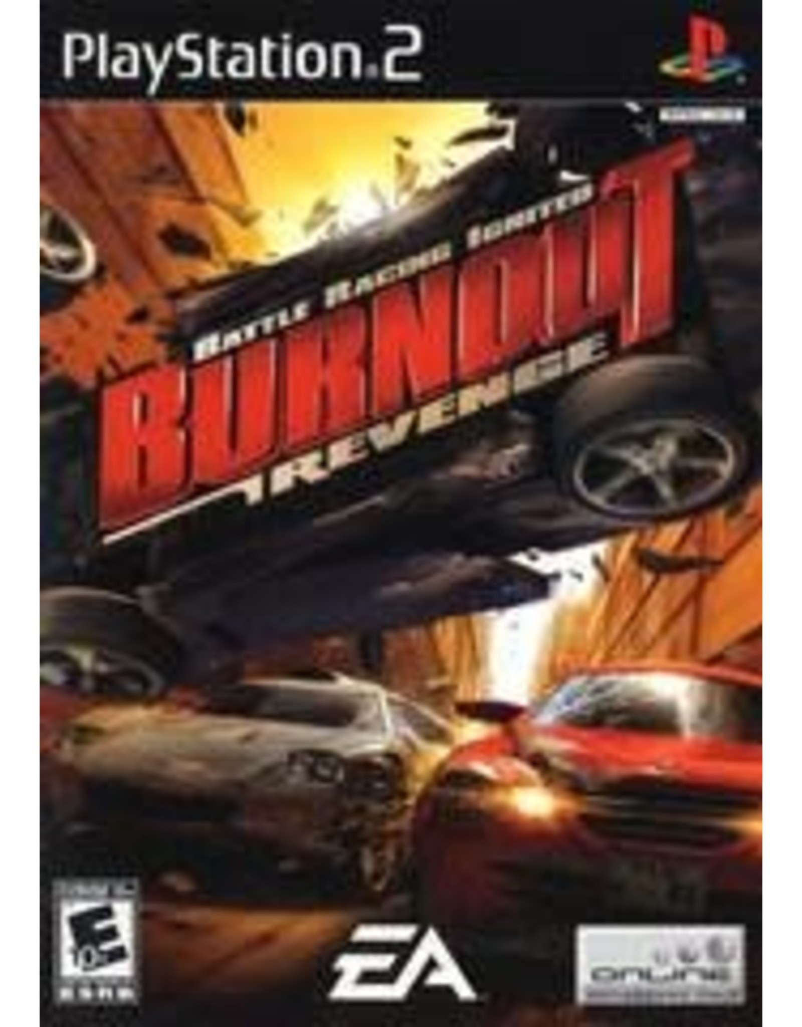 Playstation 2 Burnout Revenge (CiB)