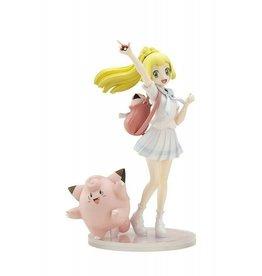 Kotobukiya Pokemon Center Original Gamba Lirie & Pippi 1/8 Scale PVC Figure (Brand New)