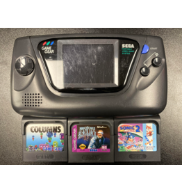Sega Game Gear Sega Game Gear Console Bundle (Sonic 2, Columns, Black Jack included, Used)