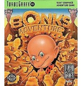 TurboGrafx-16 Bonk's Adventure (Case & Manual)