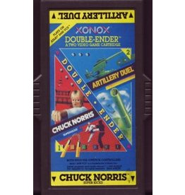 Atari 2600 ARTILLERTY DUEL/CHUCK NORRIS SUPERKICKS (Cart Only)
