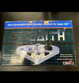 Super Nintendo Super Nintendo Control (Stealth, Damaged Box, Boxed)