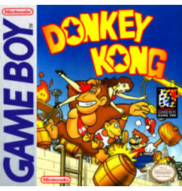 GameBoy Donkey Kong (Damaged Label, Cart Only)