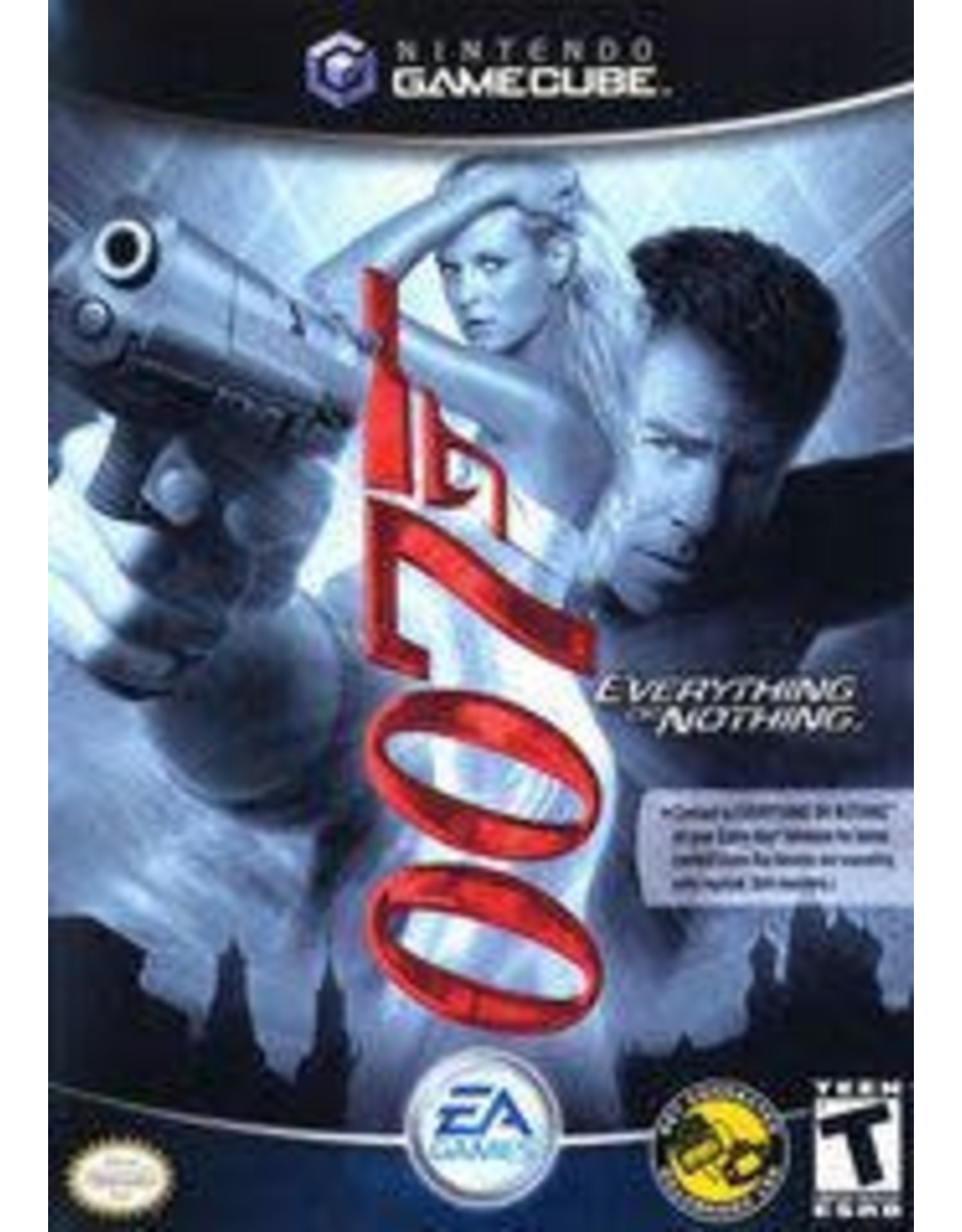 Gamecube 007 Everything or Nothing (No Manual)