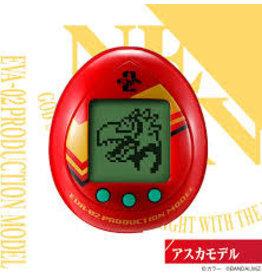 Tamagotchi Neon Genesis Evangelion Tamagotchi Unit 02 + Preorder Keychain (Brand New, Factory Sealed)