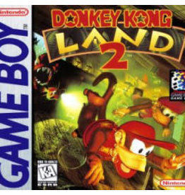 GameBoy Donkey Kong Land 2 (Damaged Label, Cart Only)