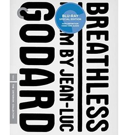 Criterion Collection Breathless Criterion Collection (Brand New)