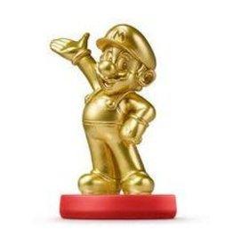 Amiibo Gold Edition Mario Amiibo (Super Mario)