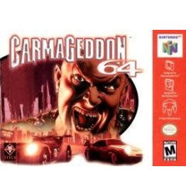 Nintendo 64 Carmageddon (Cart Only, Damaged label)