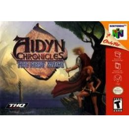 Nintendo 64 Aidyn Chronicles (Faded Box, No Manual)