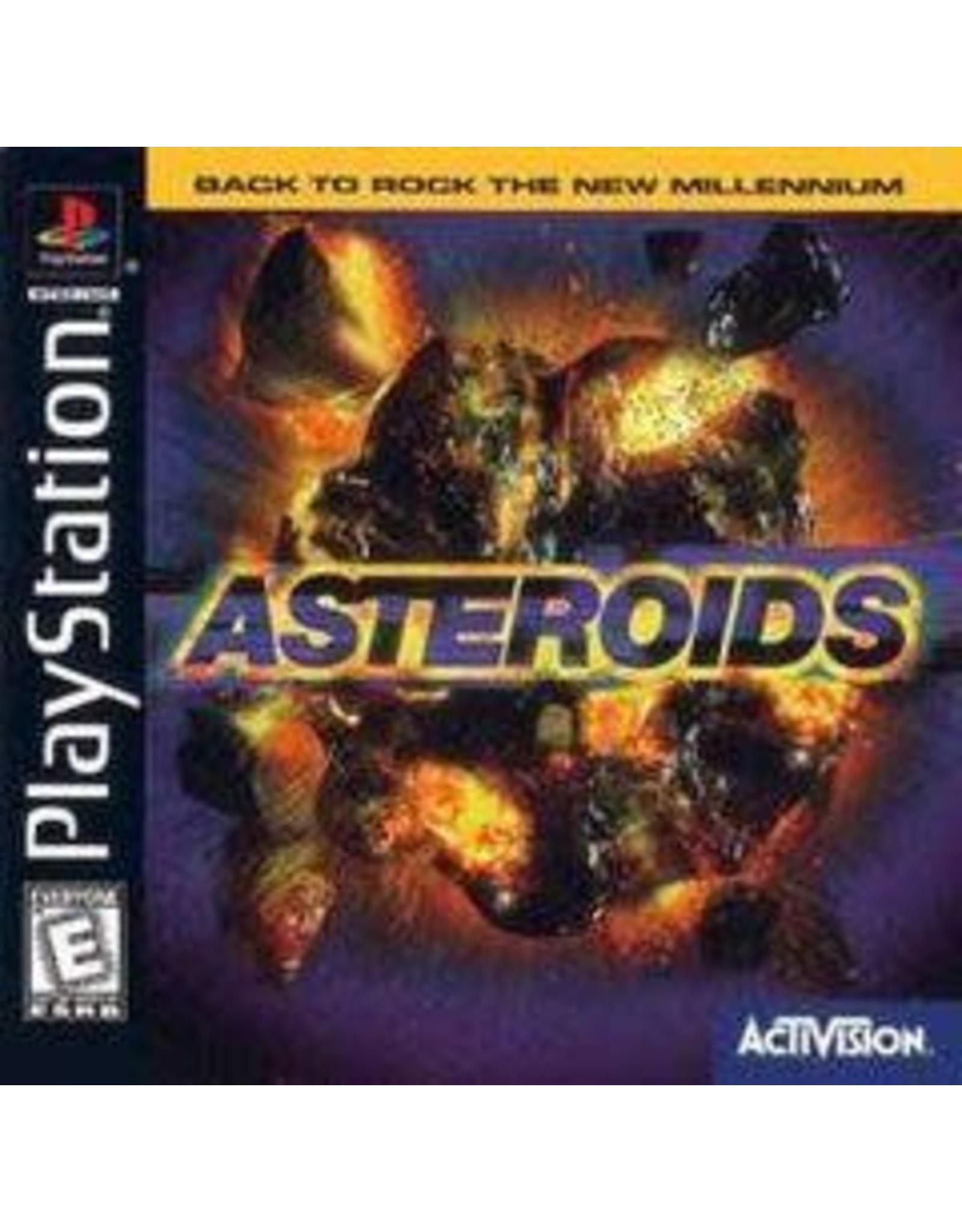 Playstation Asteroids (No Manual)