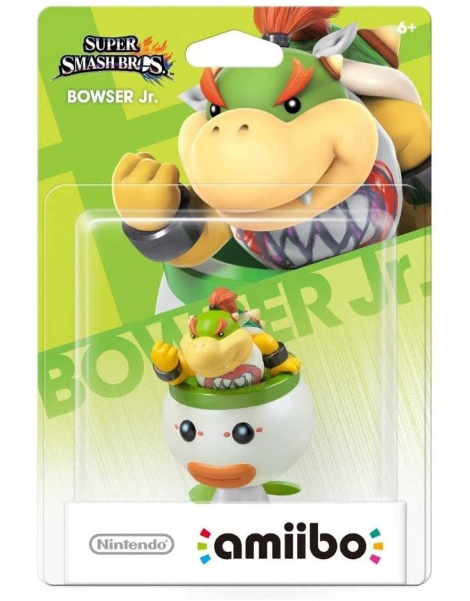 Nintendo Bowser Jr. Amiibo (Smash, New)