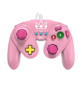 Wii Wii Wired Fight Pad (Peach)