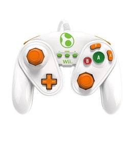 Wii Wii Wired Fight Pad (Yoshi)