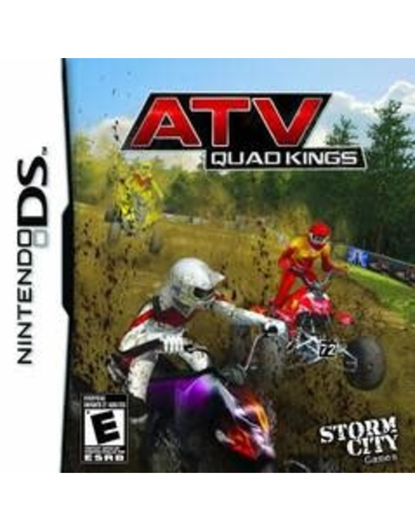 Nintendo DS ATV Quad Kings (CiB)