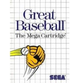 Sega Master System Great Baseball (Boxed, No Manual)