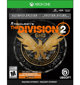 Xbox One Division 2, The Ultimate Edition Steelbook (Used, No DLC)