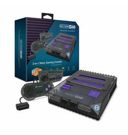 Super Nintendo Retron 2 HD NES and SNES Super Nintendo Console (Black)