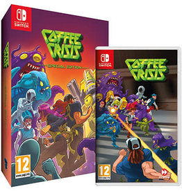 Nintendo Switch Coffee Crisis Special Edition (Used)