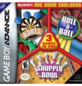 GameBoy Advance 3-in-1 Rec Room Challenge (CiB)