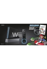Wii Black Nintendo Wii System (Mario Kart Bundle, CIB)