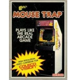 Colecovision Mouse Trap (Boxed, No Overlays)