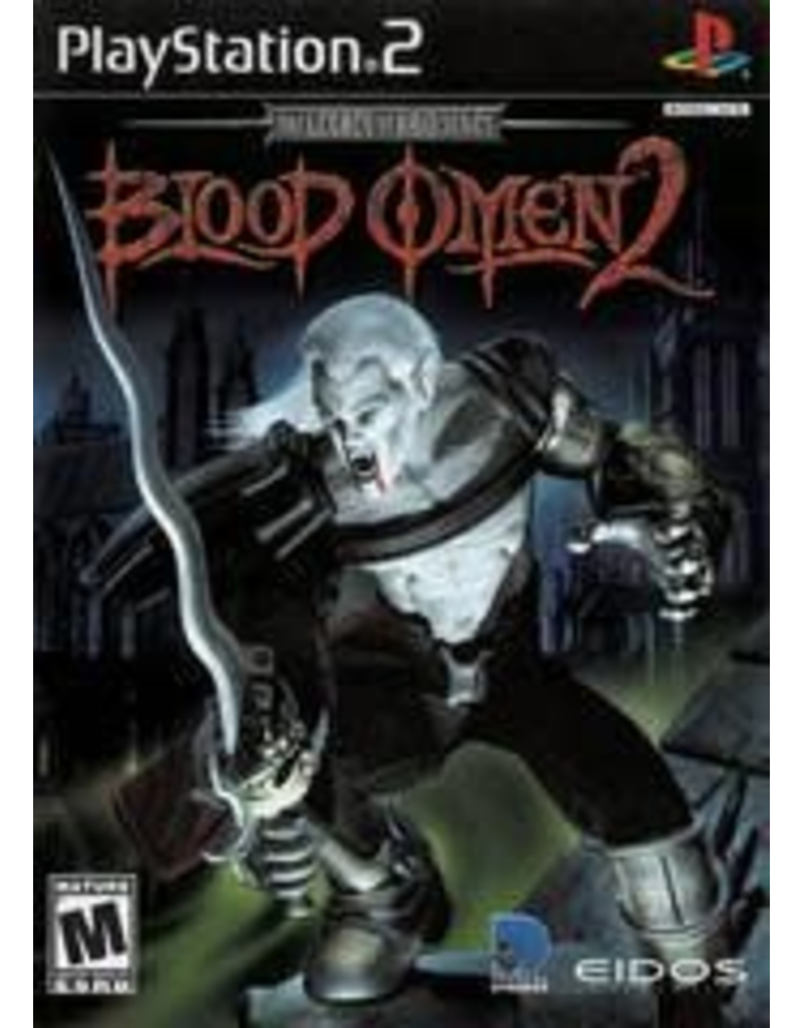 Playstation 2 Blood Omen 2 (No Manual)