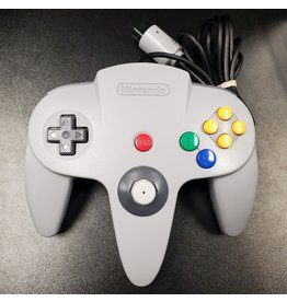 Nintendo 64 Nintendo 64 N64 Controller Grey (OEM, New Joystick)