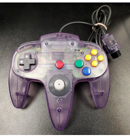 Nintendo 64 Nintendo 64 N64 Controller (OEM, New Joystick, Atomic Purple)