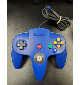 Nintendo 64 Nintendo 64 N64 Controller Blue (OEM, New Joystick)