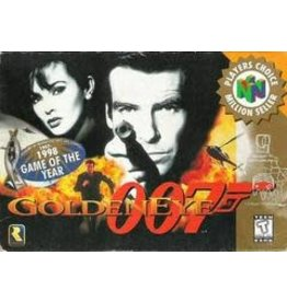 Nintendo 64 007 GoldenEye Player's Choice (CIB)