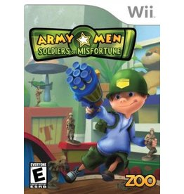 Wii Army Men Soldiers of Misfortune (No Manual)