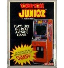 Colecovision Donkey Kong Junior (Damaged Box, Loose Cart Label)